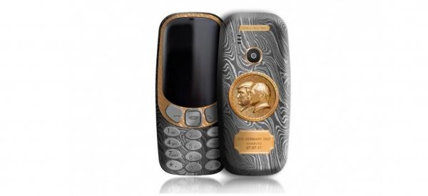 Nokia 3310 in oro e titanio per celebrare l'incontro Trump-Putin nel G20