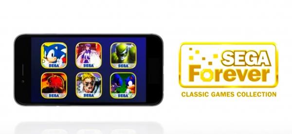 Sonic e altri classici giochi SEGA arrivano su smartphone