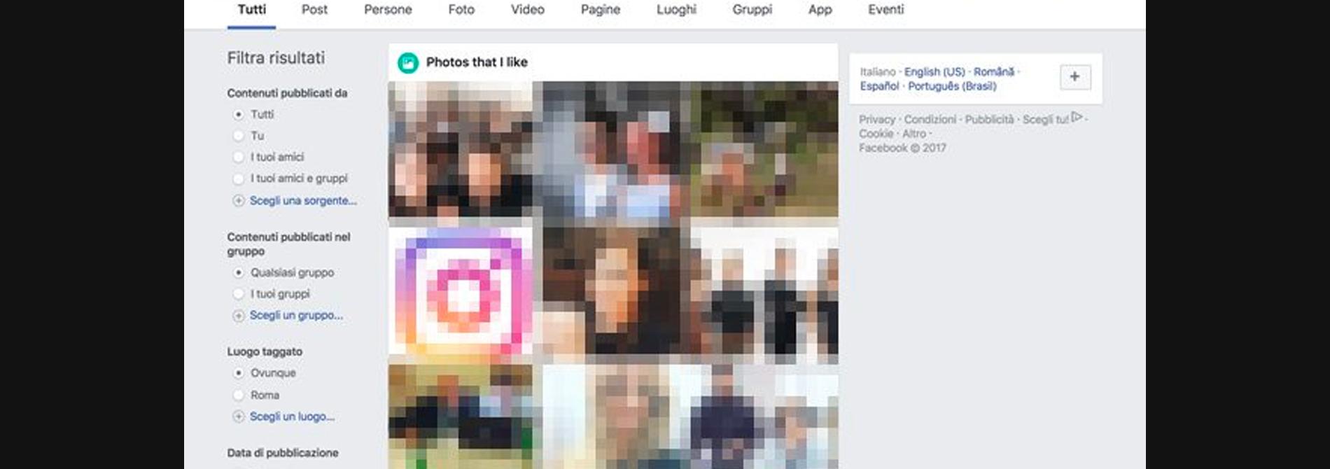 Facebook, ecco come scoprire a quali foto hanno messo Mi Piace i tuoi amici
