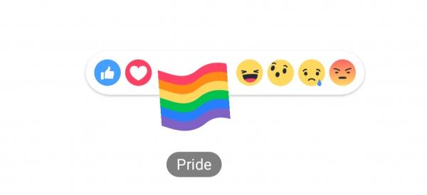 Come fare per attivare la reaction arcobaleno del Pride su Facebook