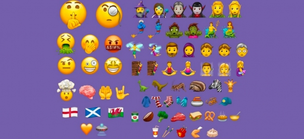 Sono in arrivo 56 nuove emoji