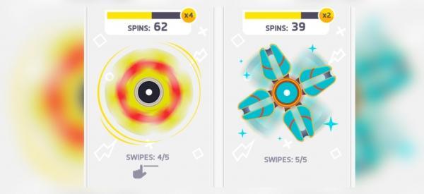 Finger Spinner, il gadget del momento diventa un app per smartphone